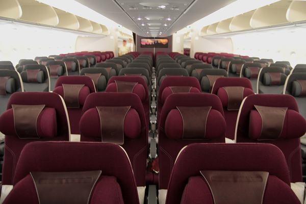 Cérémonie A380 Qatar Airways