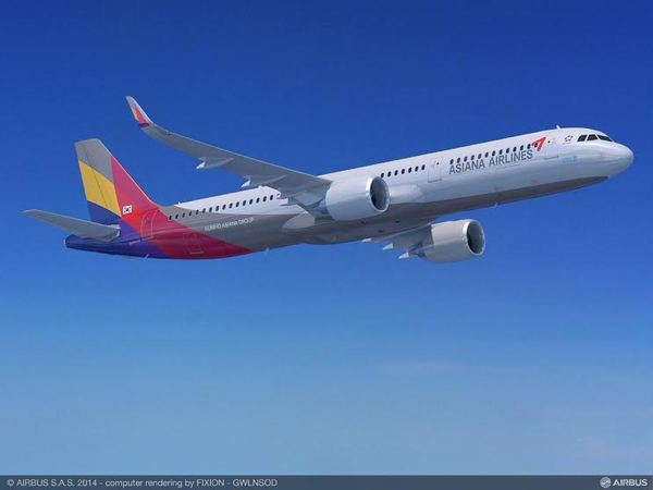 Airbus A321neo d'Asiana Airlines