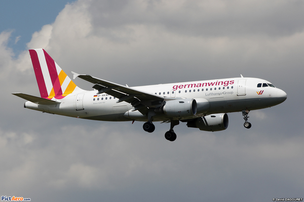 Airbus A319 de Germanwings