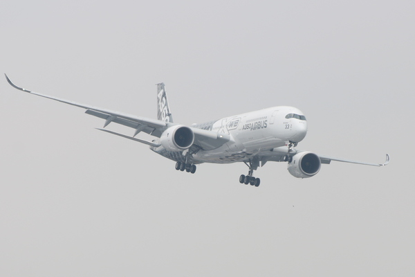 Airbus A350 XWB Carbon livery