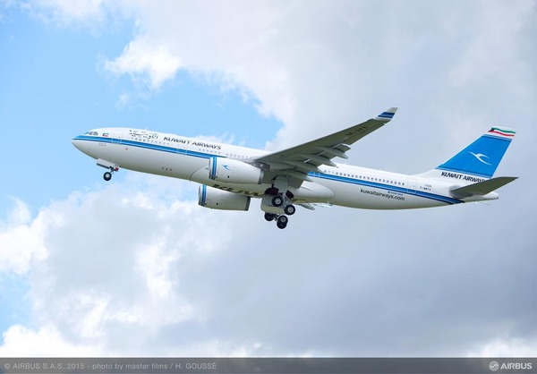 Airbus A330-200 Kuwait Airways