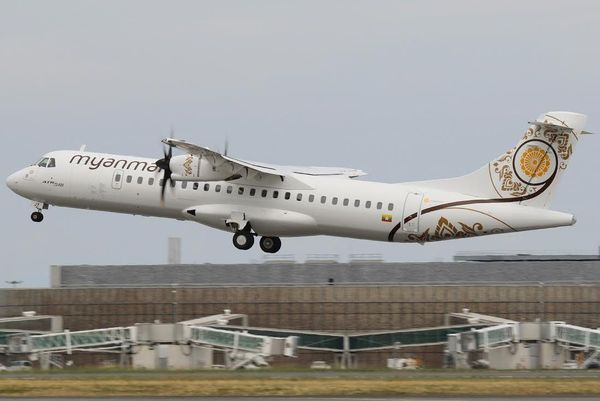ATR 72-600 Myanmair National Airlines
