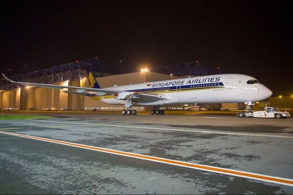 Airbus A350XWB Singapore Airlines