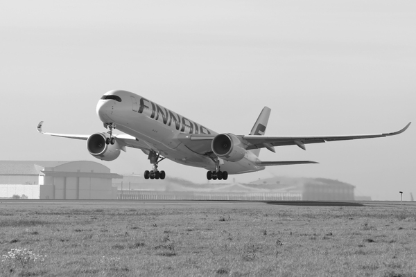 Vol Airbus A350 Finnair