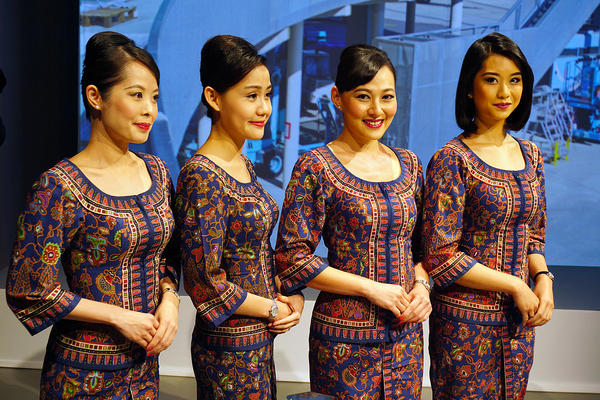 hôtesses de Singapore Airlines