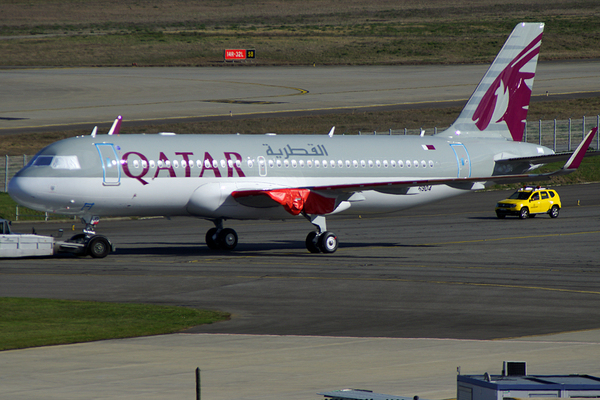 Airbus A320neo de Qatar Airways