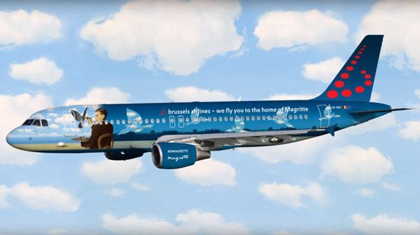 "Airbus A320 Brussels Airlines ""Magritte"" OO-SNC"