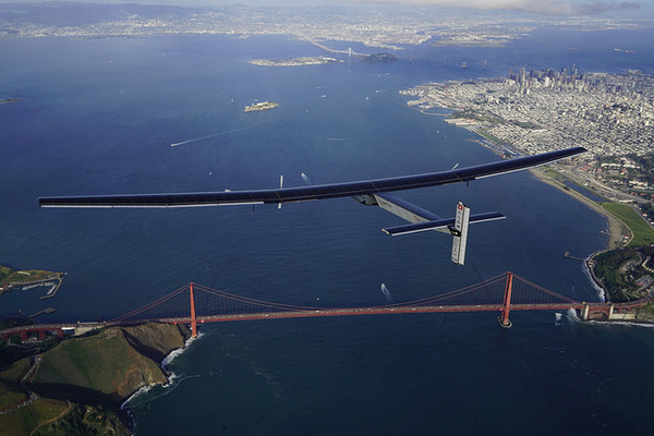 Solar Impulse 2 en Californie