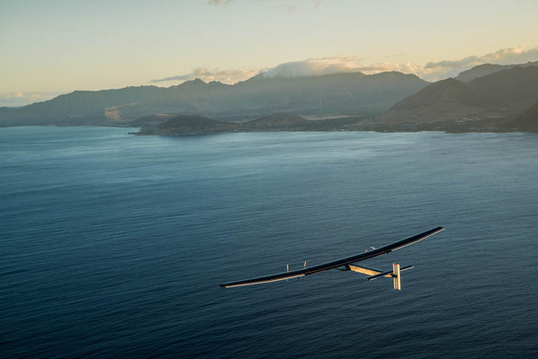 Solar Impulse 2 Hawaï