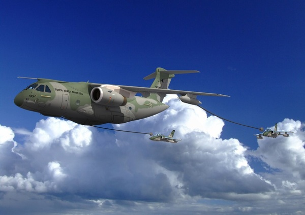 KC-390 ravitaillement en vol