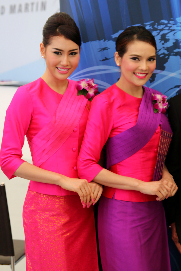 Hôtesses Thai Airways