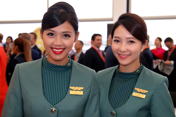 Hôtesses Eva Air