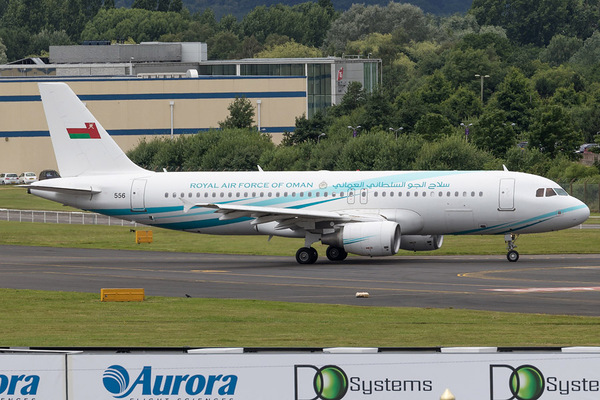A320 Oman Air Force