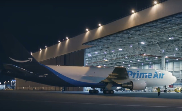 Boeing 767 Amazon Prime Air