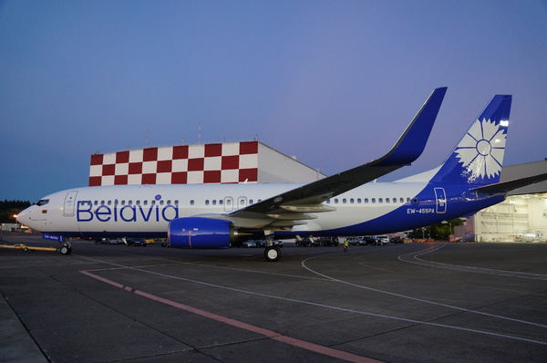 Boeing 737-800NG Belavia new livery