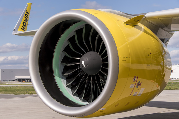 Moteur Airbus A320neo Spirit Airlines
