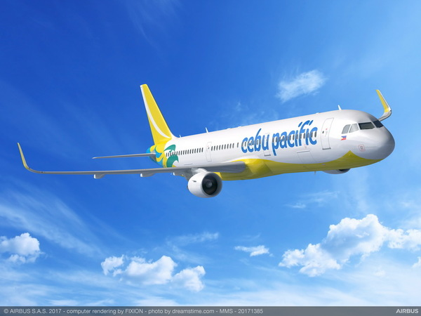 Airbus A321ceo Cebu Pacific