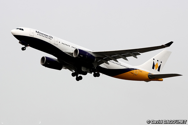 Airbus A330 monarch Airlines