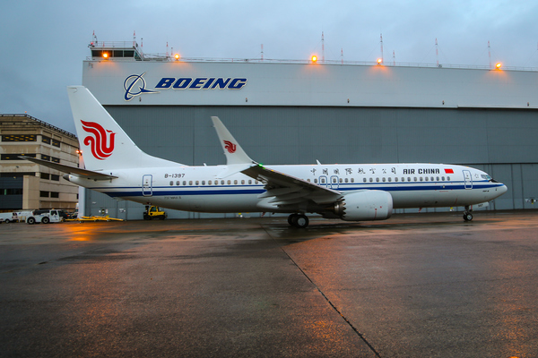 Boeing 737 max 8 Air China