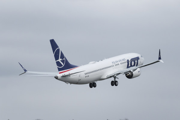 Boeing 737 Max 8 Lot Polish Airlines