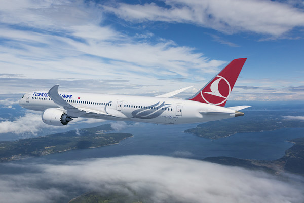 Boeing 787 Turkish Airlines