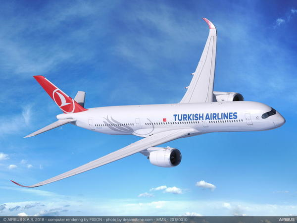 Airbus A350 Turkish Airlines