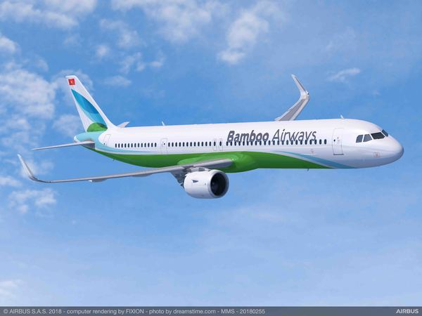 Airbus A321neo Bamboo Airways