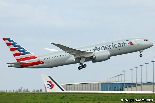 Boeing 787-8 American Airlines