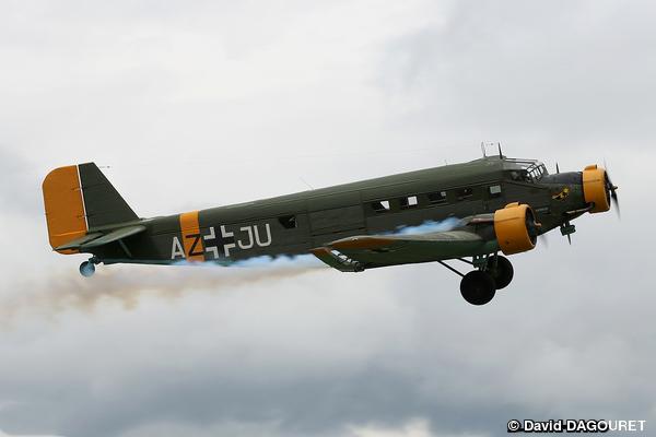"""Le 19 mai dernier, Aeroweb-fr.net a été à la découvert de la mythique """"Tante JU"""". Dans cette première partie le Junkers JU-52 de l'AJBS. 5479"""