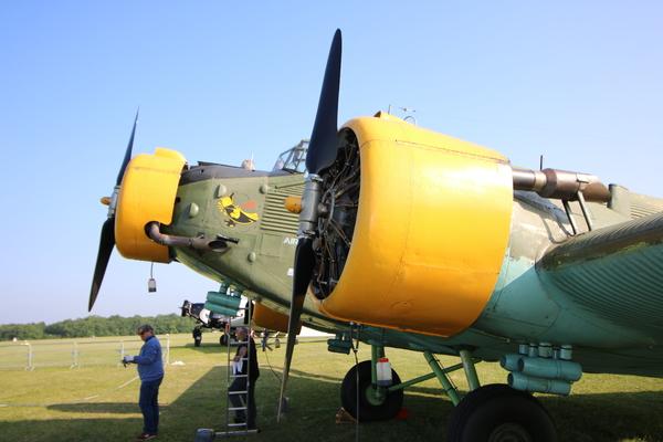 """Le 19 mai dernier, Aeroweb-fr.net a été à la découvert de la mythique """"Tante JU"""". Dans cette première partie le Junkers JU-52 de l'AJBS. 5485"""