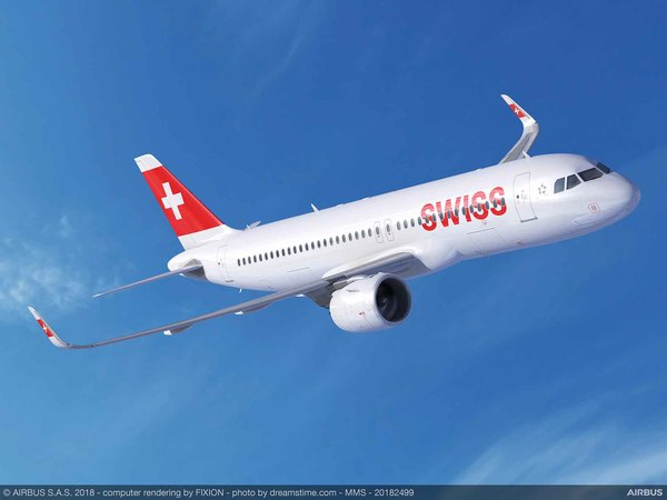 Airbus A320neo swiss