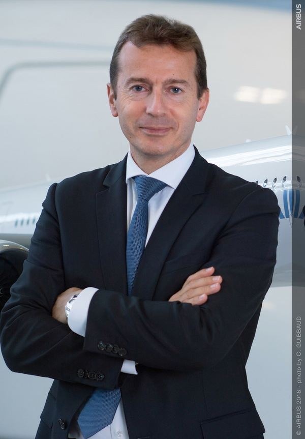 Guillaume Faury CEO d'AIRBUS