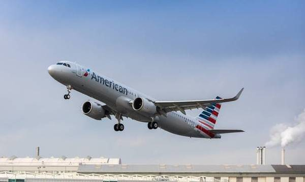 Airbus A321neo American Airlines