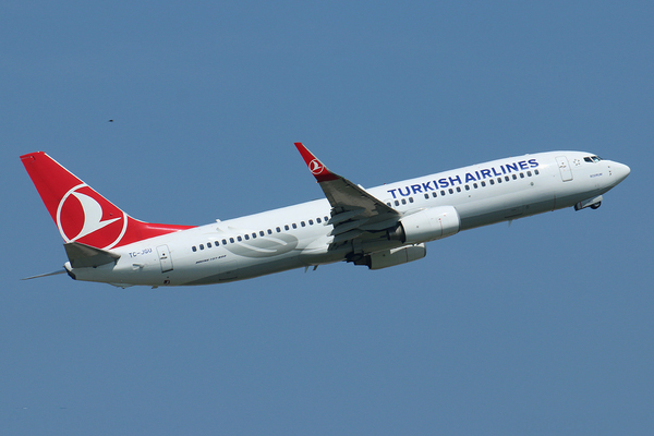 Boeing 737-800 Turkish Airlines