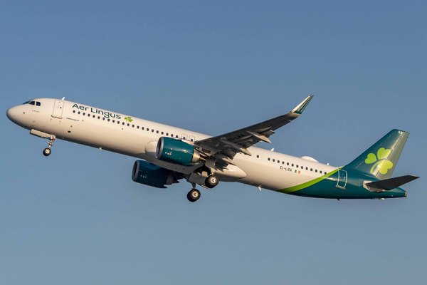 Airbus A321neo Aer lingus