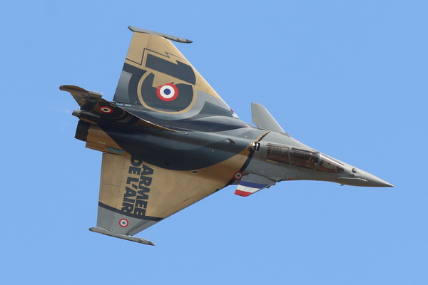 Rafale Solo Display Paris Air Legend
