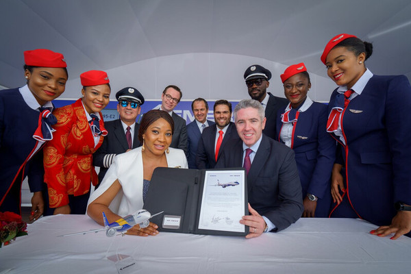 Contrat Air Peace et Embraer