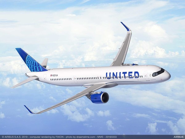 Airbus A321 XLR United Airlines