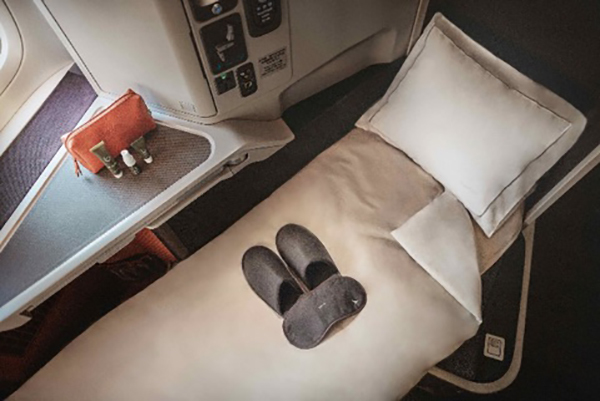 Business Class Cathay Pacific
