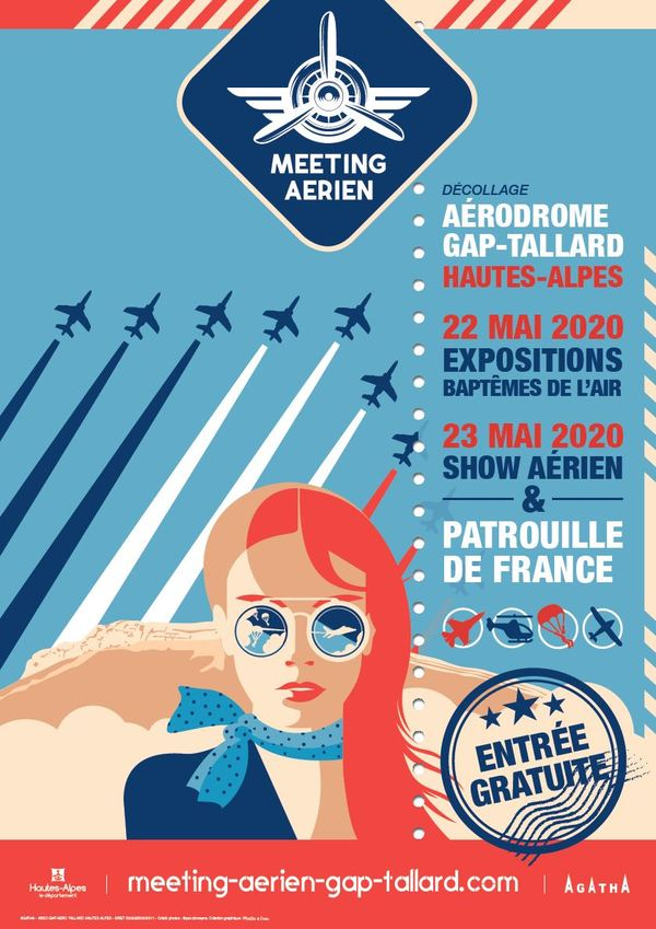 Affiche meeting Gap-Tallard