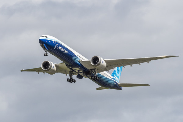 second Boeing 777X