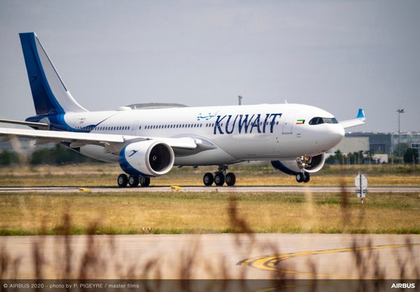 Airbus A330neo Kuwait Airways