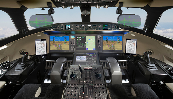 Cockpit Bombardier Global 7500