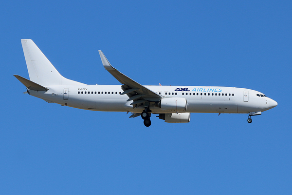 Boeing 737-800 ASL Airlines France