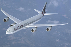 Airbus A340-600 de Qatar Airways