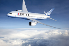Boeing 787 aux couleurs de United Airlines