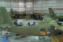 Ligne de production du Twin Otter chez Viking Air