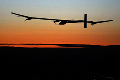 Vol de nuit du Solar Impulse