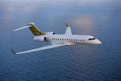 Bombardier Global Express XRS en vol