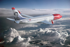 Boeing 737-800 de Norwegian Air Shuttle